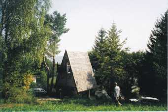 The 'witch house' at the Gartl